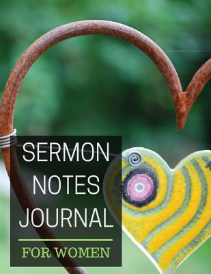 Sermon notes Journal for women