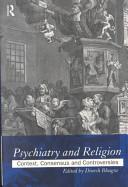 Psychiatry and Religion