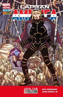 Capitan America #4 Marvel Now!