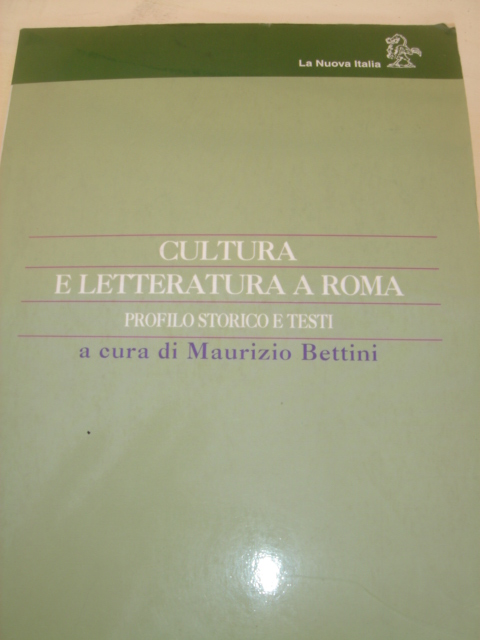 Cultura e letteratura a Roma
