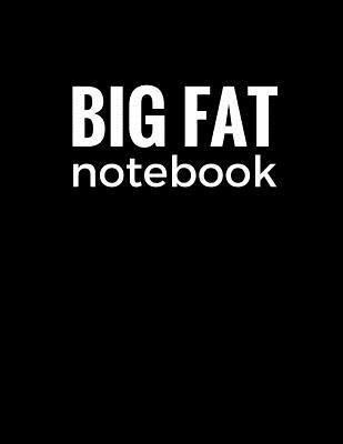 Black Big Fat Notebo...