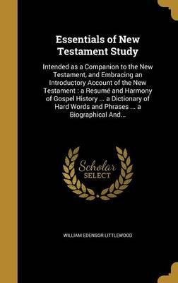 Essentials of New Testament Study