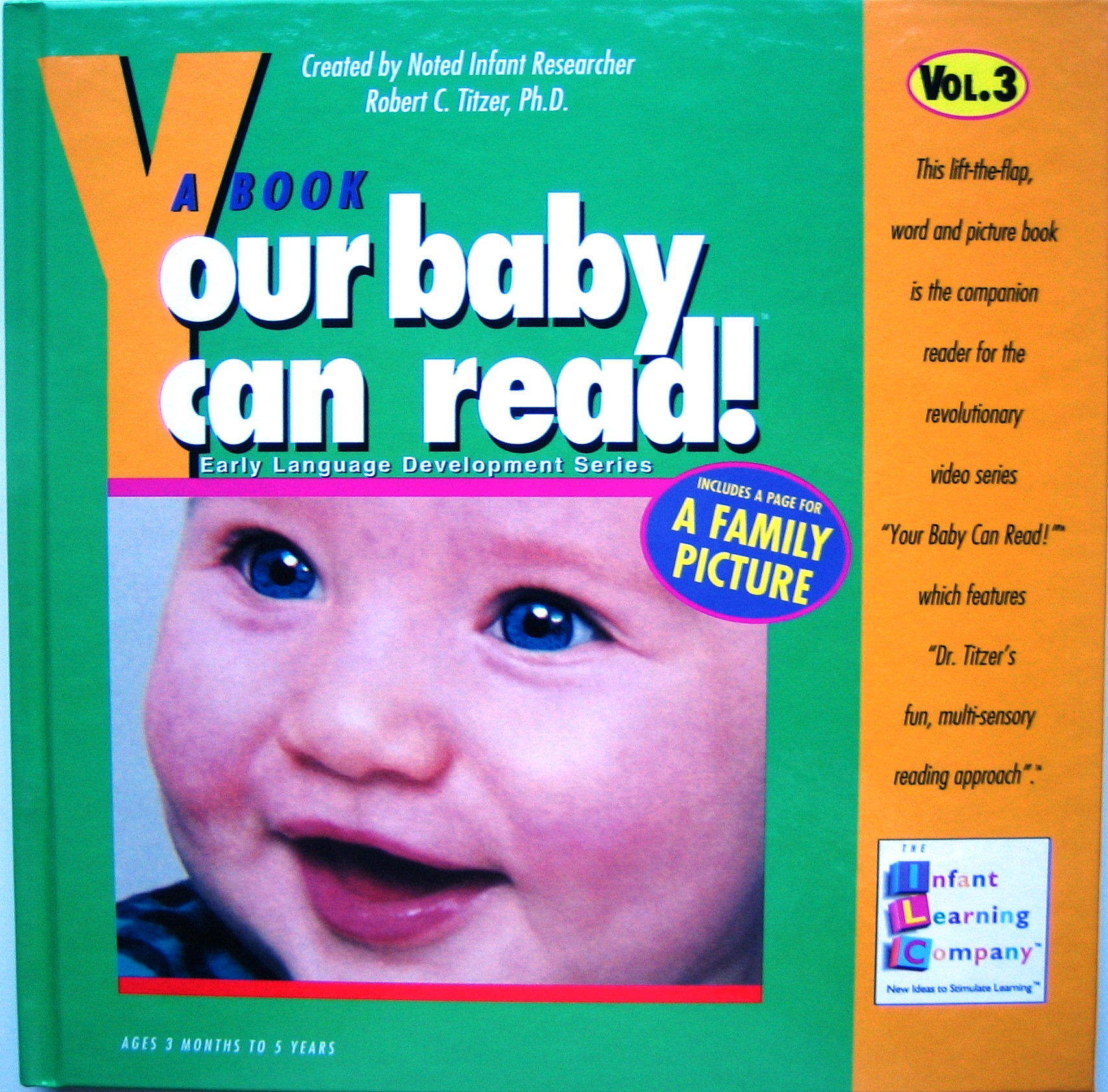 Your Baby Can Read - Volume 3
