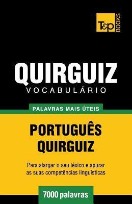 Vocabulário Português-Quirguiz - 7000 palavras mais úteis