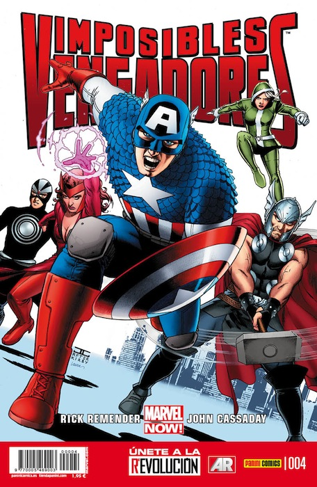 Imposibles Vengadores Vol.1 #4