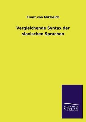 Vergleichende Syntax der slavischen Sprachen