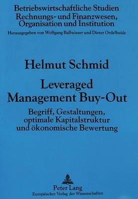 Leveraged Management Buy-Out