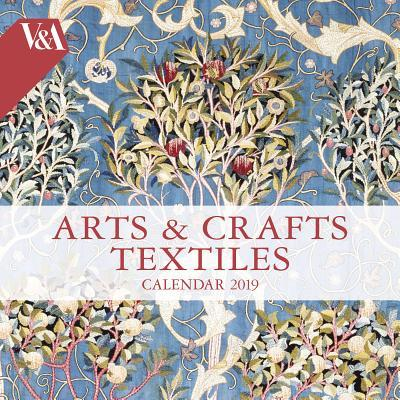 V&a - Arts & Crafts Textiles 2019 Calendar