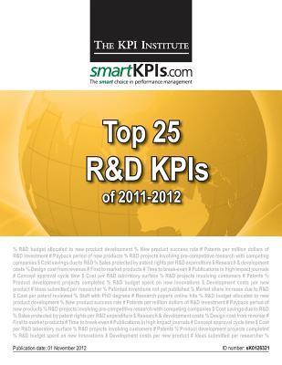 Top 25 R&D Kpis of 2011-2012