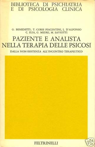 Paziente e analista nella terapia delle psicosi