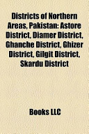 Districts of Northern Areas, Pakistan