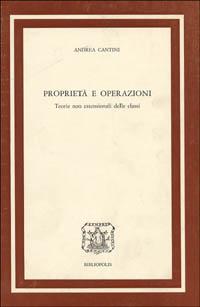 Proprietà e operazioni