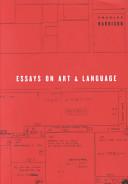 Essays on Art and La...
