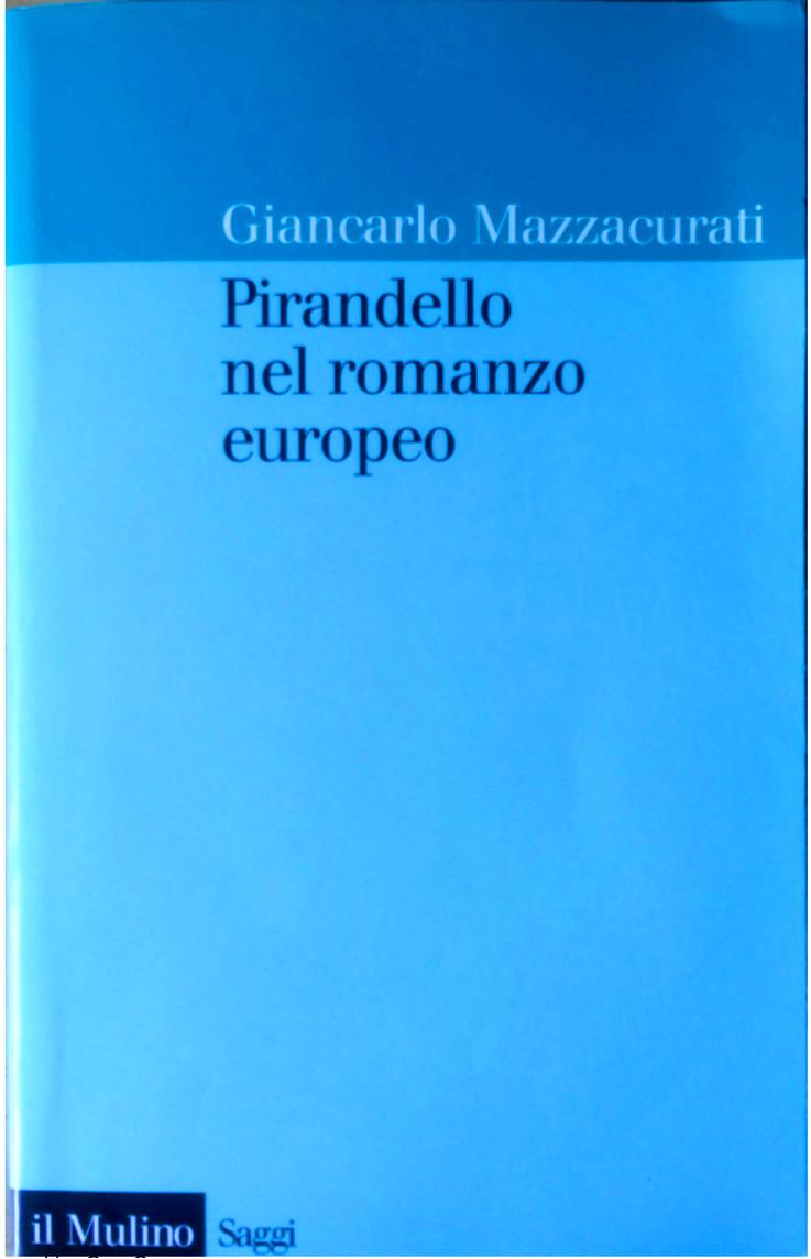 Pirandello nel romanzo europeo