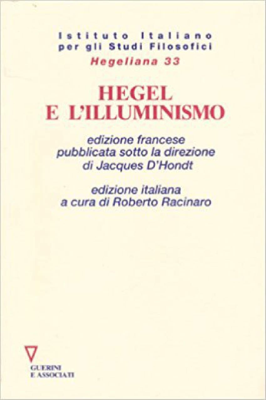 Hegel e l'illuminismo