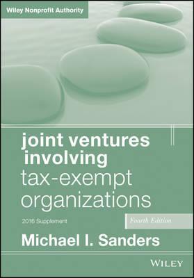 Joint Ventures Involving Tax-Exempt Organizations 2016