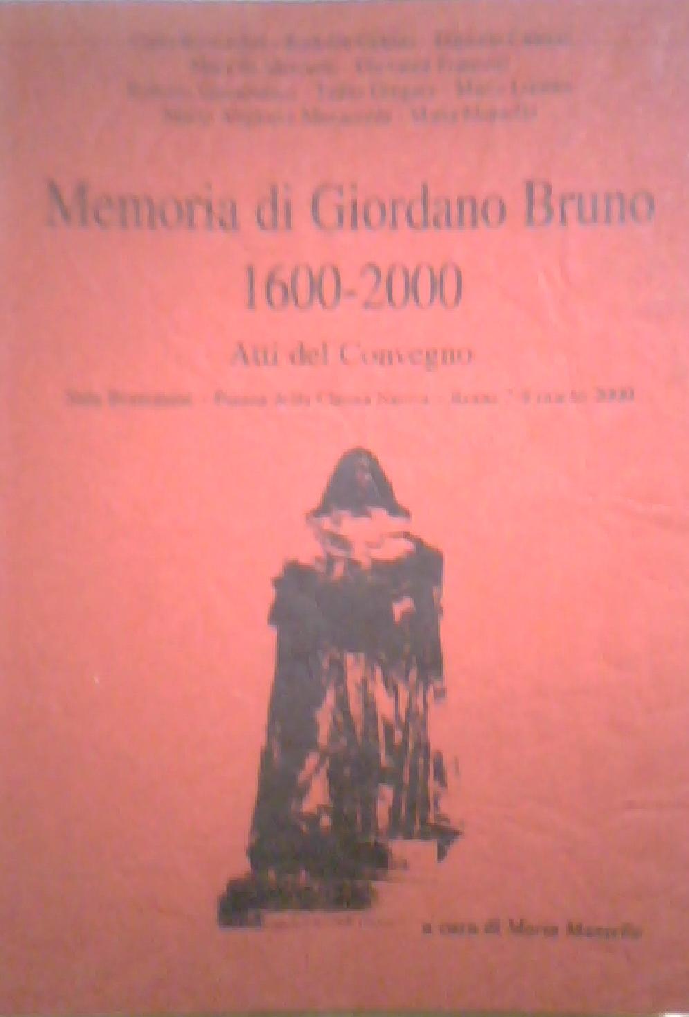 Memoria di Giordano ...