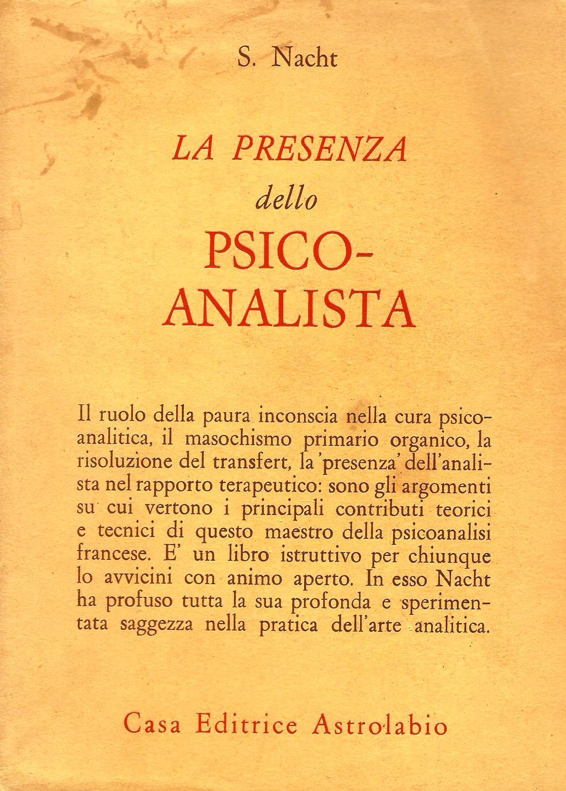 La presenza dello psicoanalista