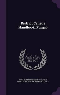 District Census Handbook, Punjab