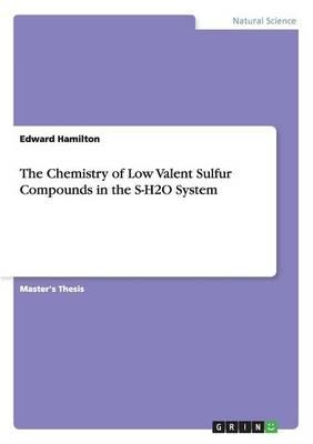The Chemistry of Low Valent Sulfur Compounds in the S-H2O System