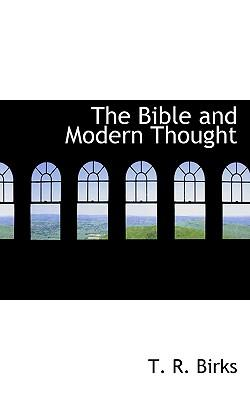 The Bible and Modern Thought