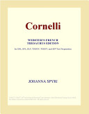 Cornelli (Webster's French Thesaurus Edition)
