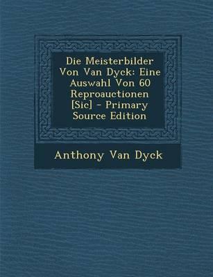 Die Meisterbilder Von Van Dyck