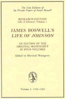 """James Boswell's """"Lif..."""