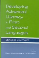 Developing advanced literacy in first and second languages