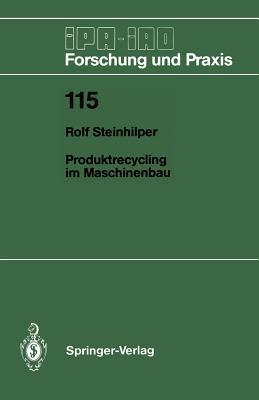 Produktrecycling Im Maschinenbau