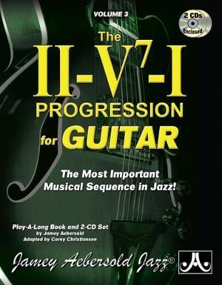 Jamey Aebersold Jazz -- the Ii-v7-i Progression for Guitar