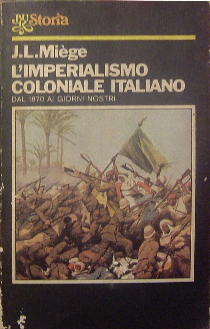 L'imperialismo coloniale italiano