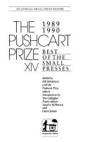 The Pushcart prize XIV