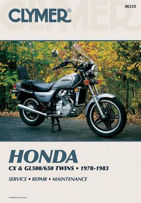 Honda Cx & Gl500/650 Twins 1978-1983 Service Repair Maintenance