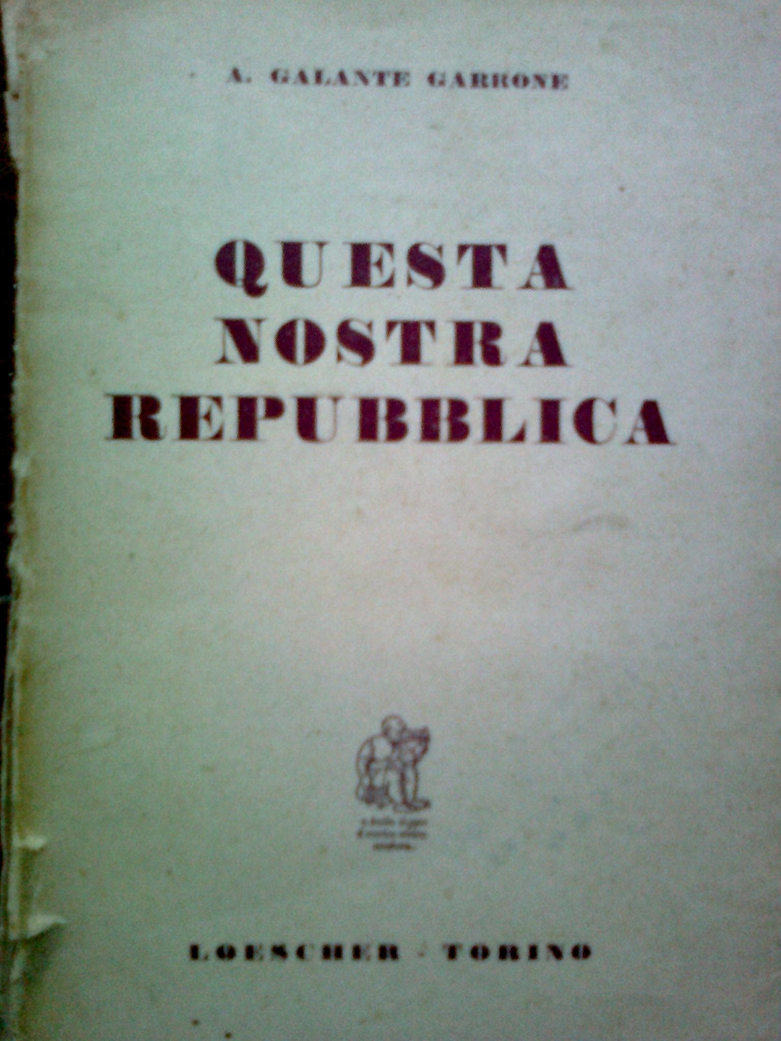 Questa nostra Repubblica
