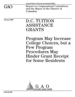 D.C. Tuition Assistance Grants