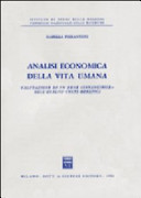 Analisi economica della vita umana