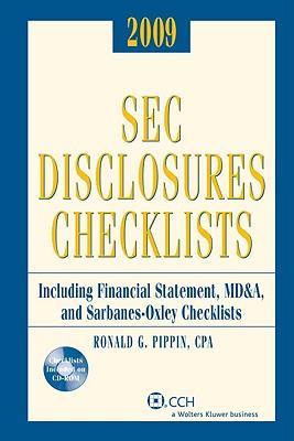 Sec Disclosures Checklists 2009
