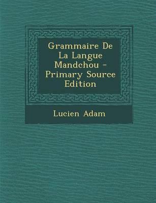 Grammaire de La Lang...
