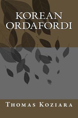 Korean Ordafordi