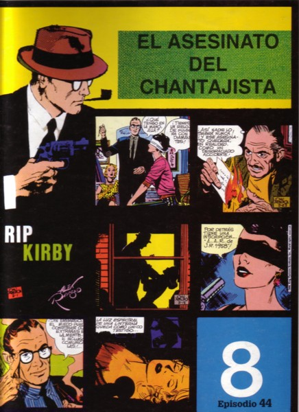 Rip Kirby #44: El asesinato del chantajista