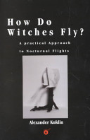 How Do Witches Fly?