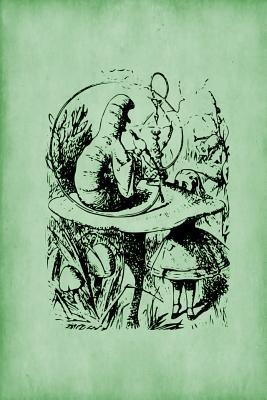 Alice in Wonderland Journal - Alice and the Caterpillar (Green)