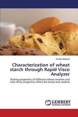 Characterization of wheat starch through Rapid Visco Analyzer