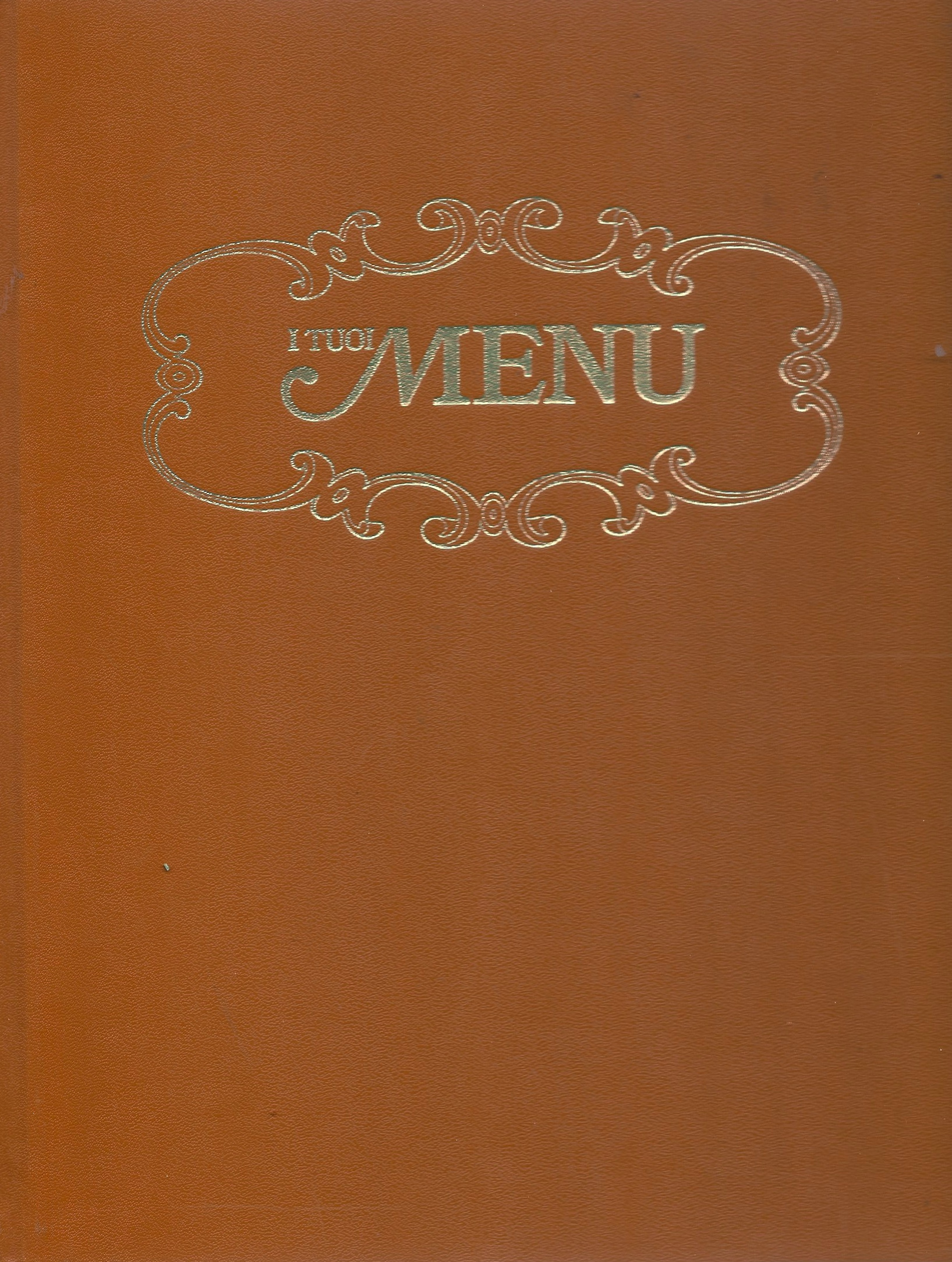 I tuoi menu - vol 7