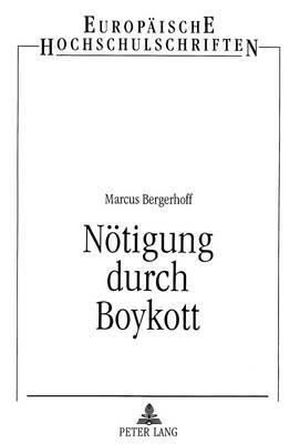 Nötigung durch Boykott