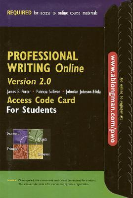Professional Writing Online Version 2.0