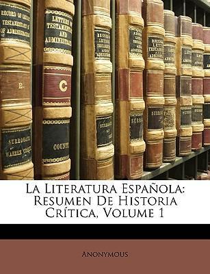 La Literatura Espaol...