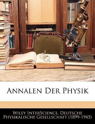 Annalen der Physik, Fünfundzwanzigster Band