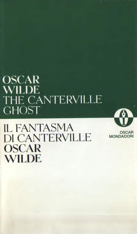 Il fantasma di Canterville - The Canterville ghost